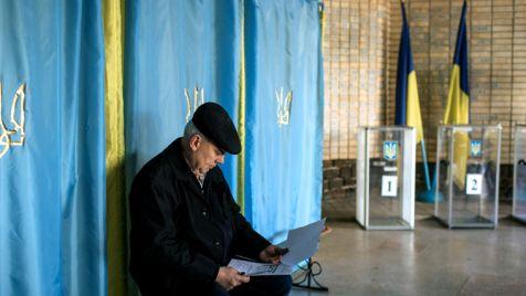 Ukraina wybierze w niedzielę parlament (fot. PAP/EPA/ROMAN PILIPEY)