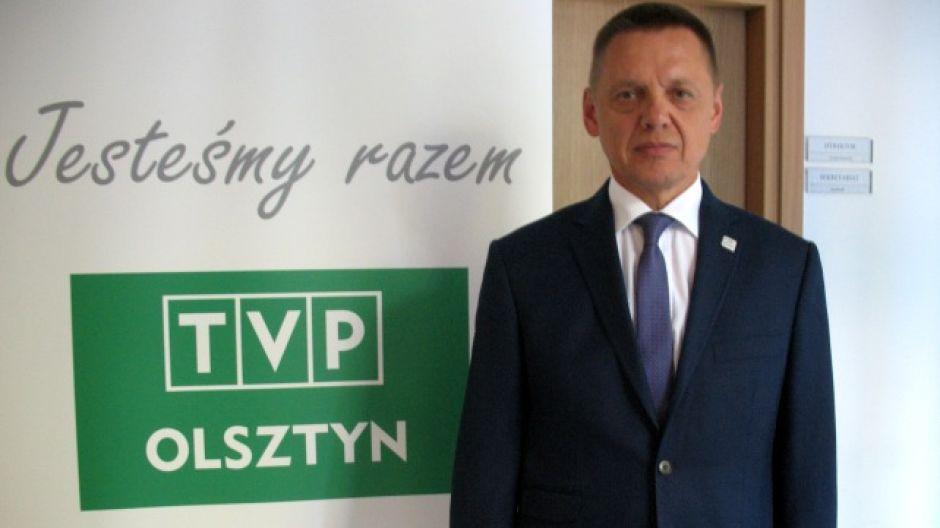 Mirosław Nicewicz, dyrektor oddziału Generalnej Dyrekcji Dróg Krajowych i Autostrad w Olsztynie