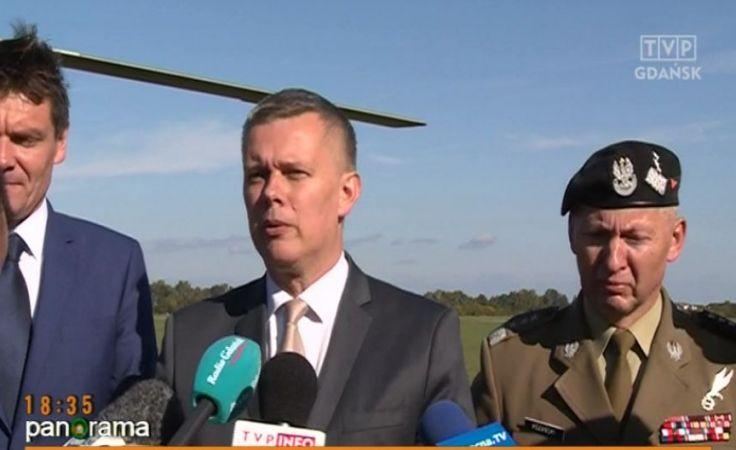Minister obrony narodowej z wizytą na Pomorzu