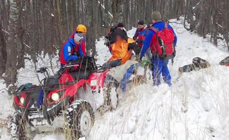 GOPR-owcy uratowali życie zagubionemu w górach