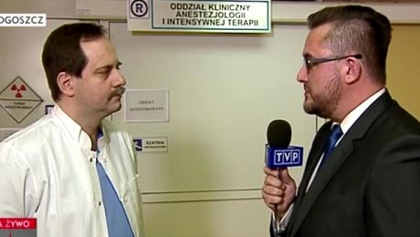 Dr Włodarski o wybudzaniu T. Golloba (TVP INFO)