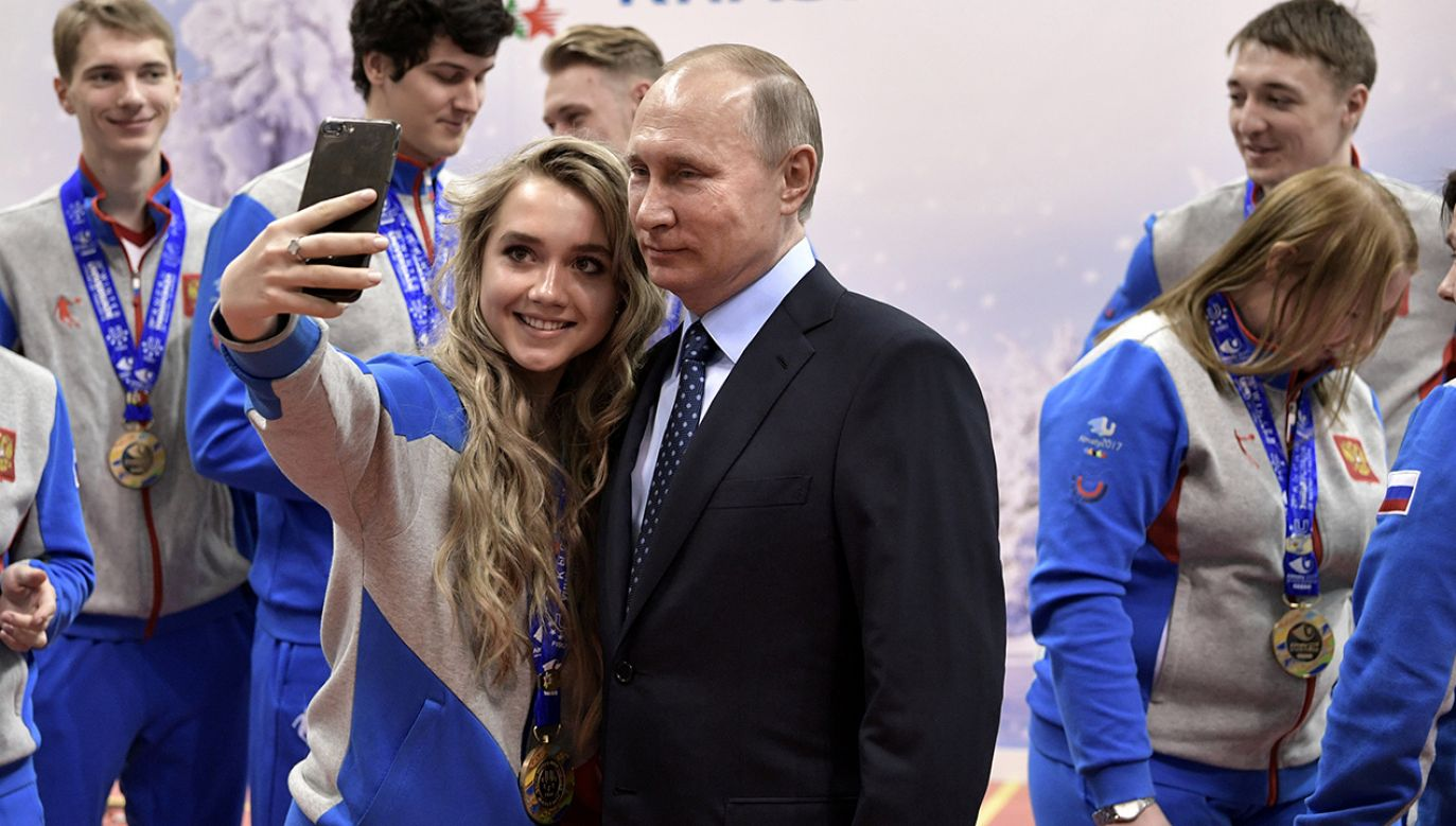 Moskwa obawia się, że rosyjska reprezentacja zostanie odsunięta od udziału w zimowej olimpiadzie w Korei Płd. (fot. Sputnik/Aleksey Nikolskyi/Kremlin via REUTERS)