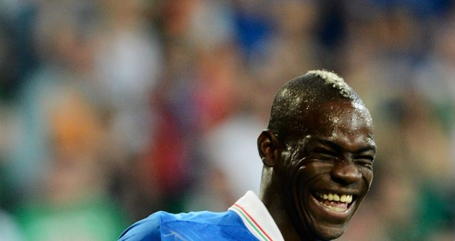 Wynik meczu z Irlandią ustalił Mario Balotelli (fot. Getty Images)