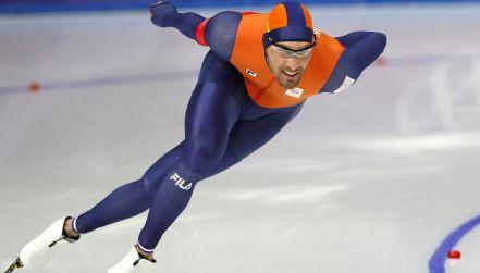 Łyżwiarstwo szybkie: Kjeld Nuis najlepszy na 1500 m