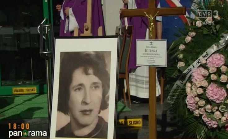 Uroczysty pogrzeb Anny Kurskiej