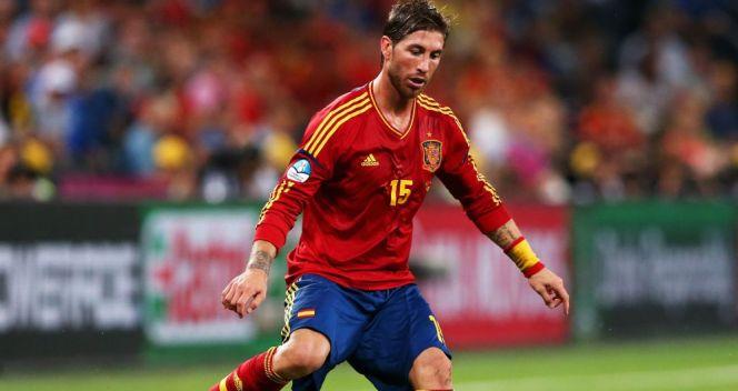 Sergio Ramos był podczas polsko-ukraińskiego turnieju niemal bezbłędny (fot. Getty Images)