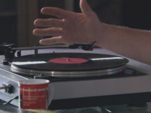 Ludwik i gramofon - scena z odc. 80