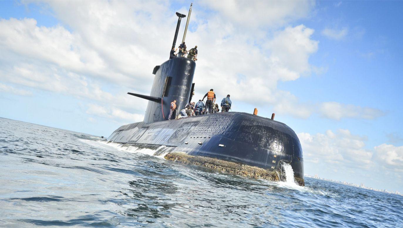 Z każdą godziną maleją szanse na uratowanie załogi (fot. PAP/EPA/ARGENTINA NAVY HANDOUT HANDOUT)
