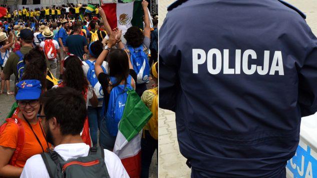 Policja zapewnia, że jest bezpiecznie (fot.  PAP/Jacek Turczyk/tvp.info/Paweł Chrabąszcz)