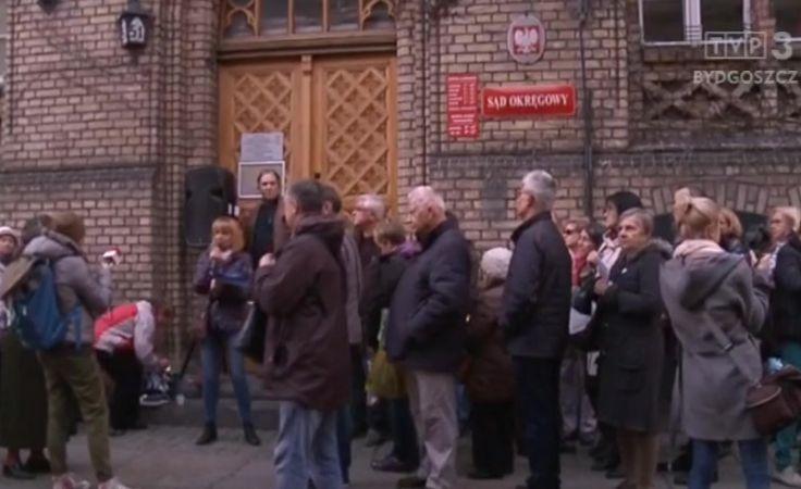 Kolejny protest sympatyków KD ws. reformy sądownictwa