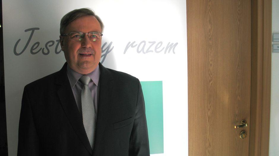 Marian Podziewski, wojewoda warmińsko-mazurski.