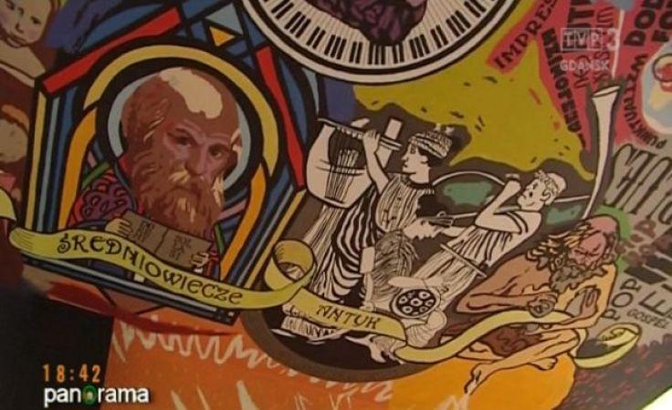 W Słupsku powstaje rekordowy mural