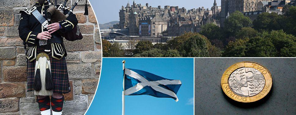 Jak zdecyduje Szkocja? (fot. PAP/EPA/ROBERT PERRY/ANDY RAIN/STR/FACUNDO ARRIZABALAGA)