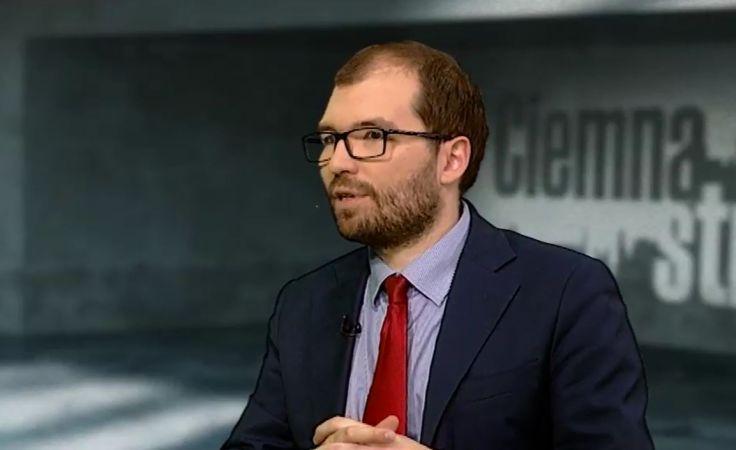 Członek komisji reprywatyzacyjnej Adam Zieliński. Fot: TVP3 Warszawa