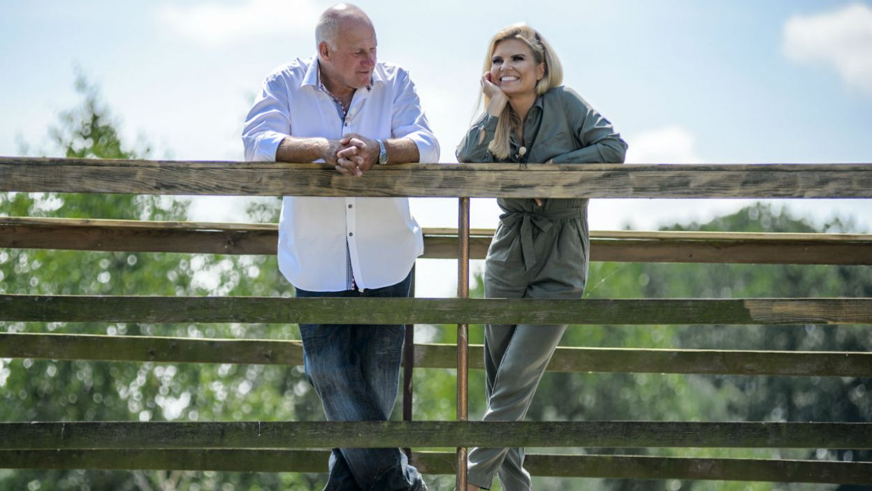 Marta była zaskoczona, gdy zastała Jana tylko z Małgosią (fot. TVP)