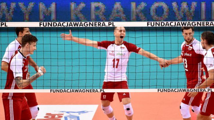 Polska pokonała Kanadę 3:0 (36:34, 25:20, 26:24), (fot. PAP/Jacek Bednarczyk)