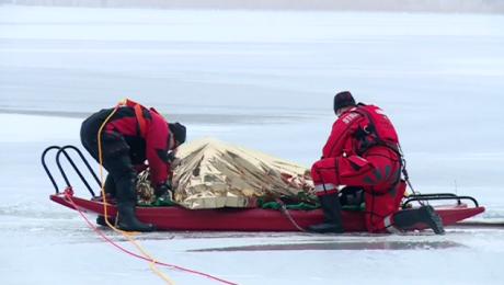 Ciało mężczyzny znajdowało się w odległości około 30 metrów od brzegu