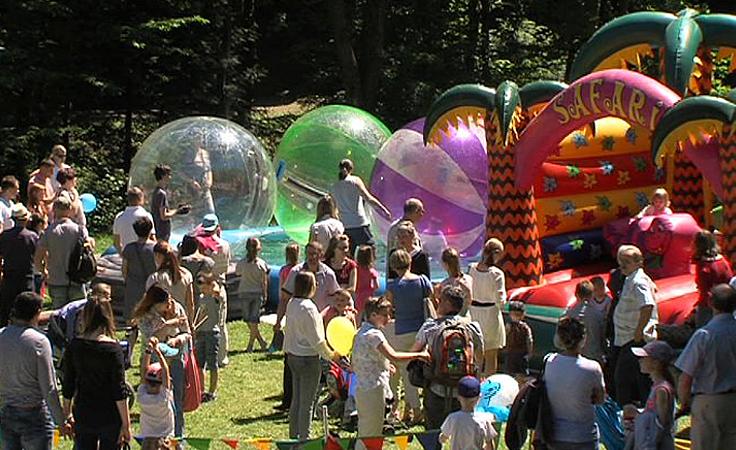 Wielki piknik z okazji dnia dziecka i promocja uzdrowiska