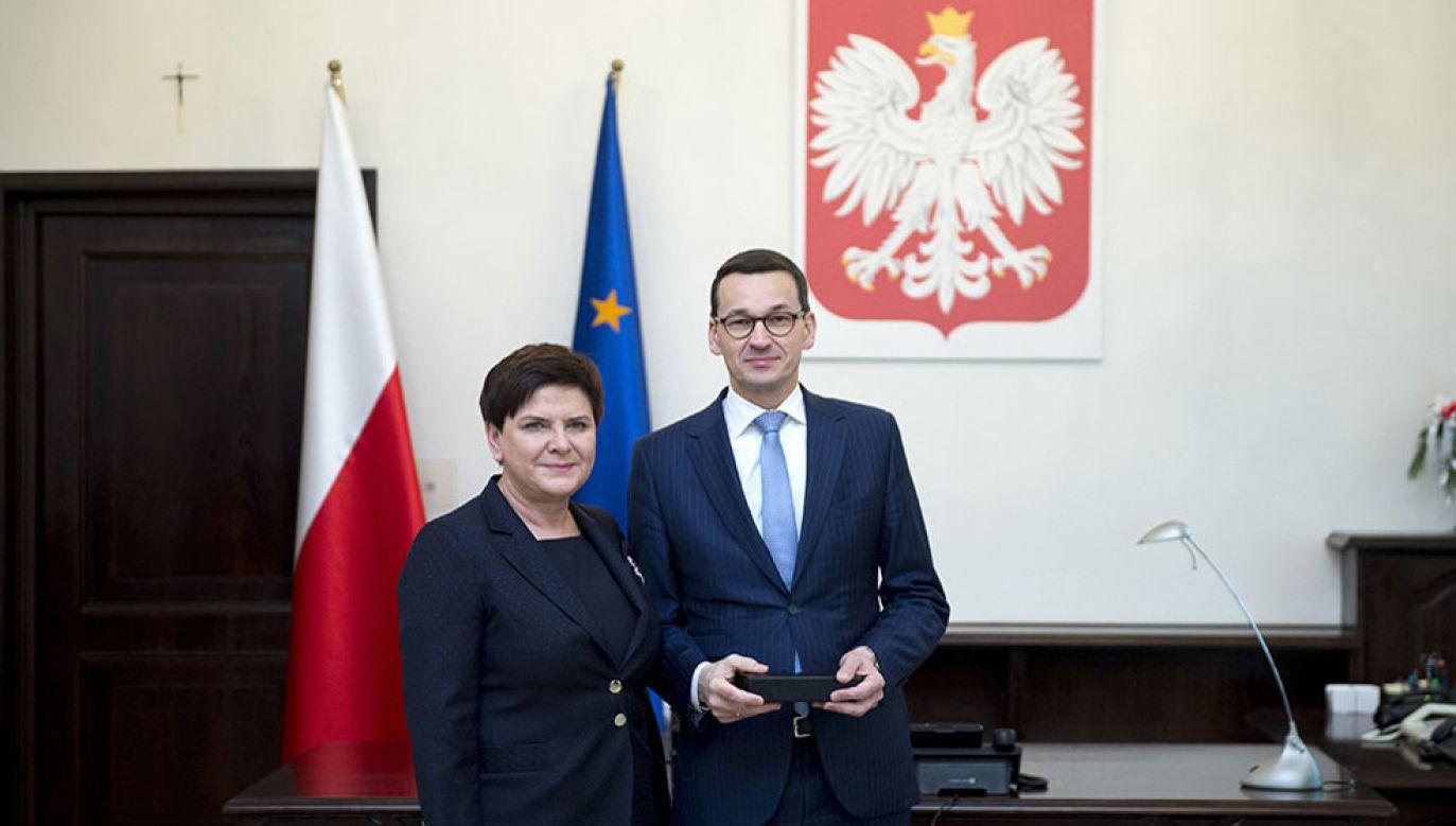 W opinii prof. Kika sto dni premier Szydło i premiera Morawieckiego były