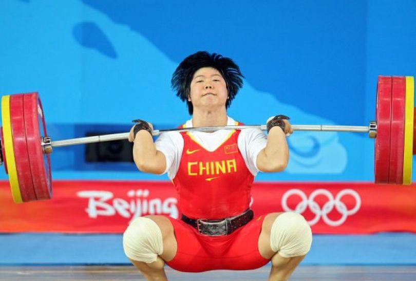 Liu Chunhong – mistrzyni w kategorii 69 kg (fot. Getty Images)