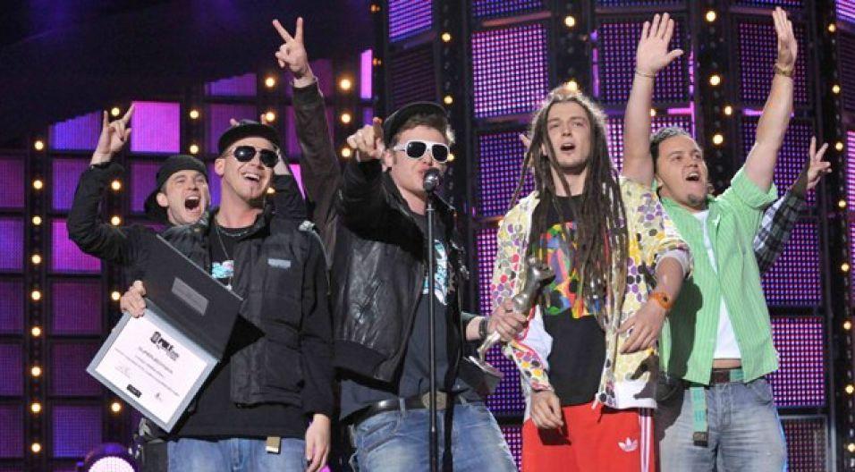Zespół Afromental został uznany za najlepszą grupę roku (fot. Jan Bogacz/TVP)