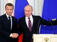 Ententa przeciw Trumpowi – komentarze po spotkaniu Macrona z Putinem