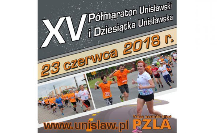 XV Półmaraton Unisławski i Dziesiątka Unisławska