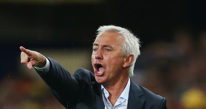 Bert van Marwijk miał wiele uwag do swoich zawodników (fot. Getty Images)