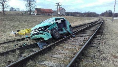 Kierowca za spowodowanie kolizji odpowie przed sądem (fot. KWP Olsztyn)
