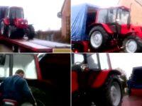 Komornik kupił ciągnik rolnikowi, któremu bezprawnie zabrał poprzedni. Ale rolnik tego traktora nie przyjmie