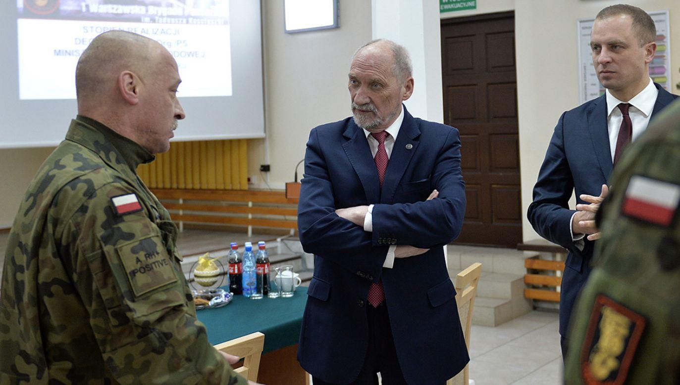 Antoni Macierewicz (fot. Flickr/MinisterstwoObronyNarodowej)