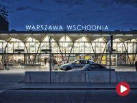 Oberwał się sufit dworca wschodniego. Przed Euro 2012 był wyremontowany za 60 mln zł