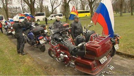 Rajdy rosyjskich klubów motocyklowych do Braniewa odbywają się od 2010 roku