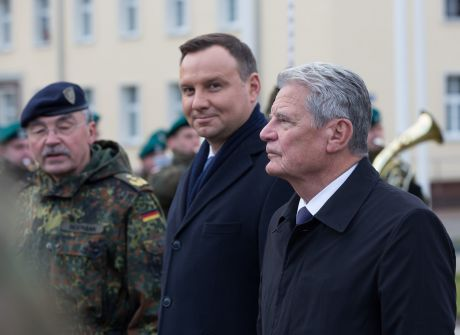 Prezydenci RP i RFN z wizytą w Szczecinie