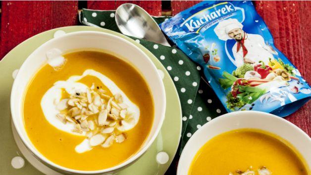 Zupa z marchwi to szybkie i zdrowe danie (fot. tvp)