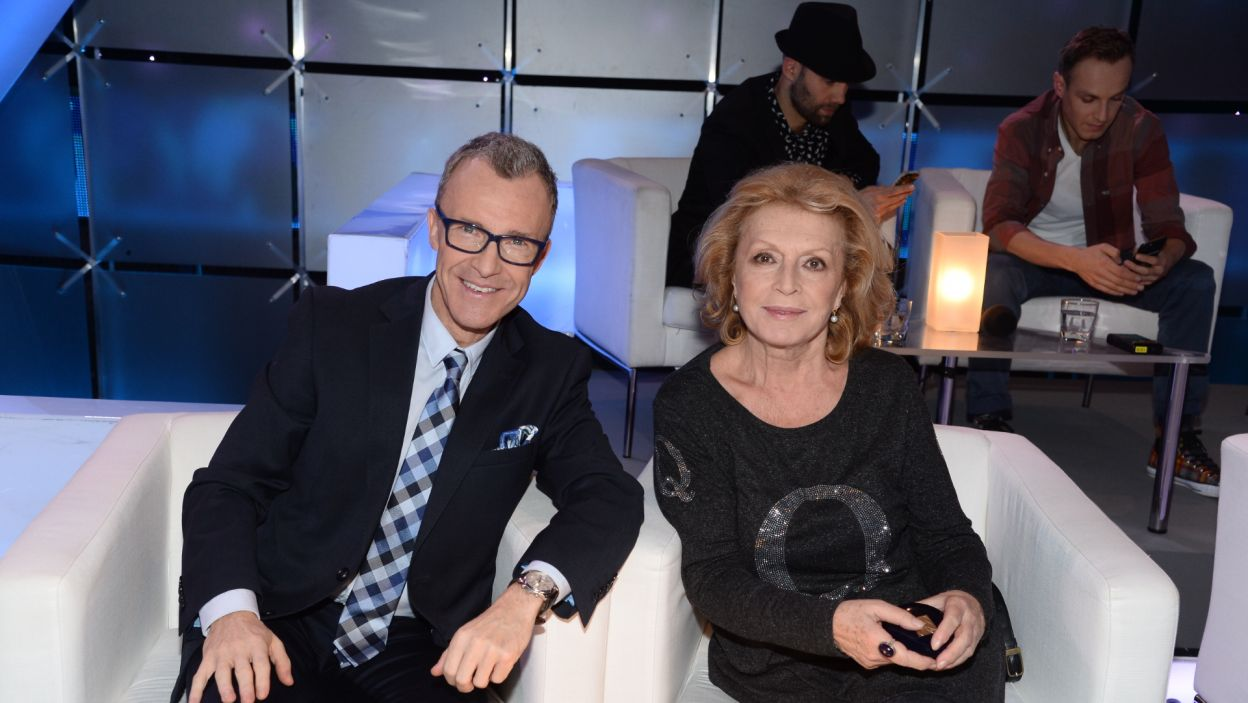 Jerzy Petersburski Jr i Ewa Wiśniewska (fot. Jan Bogacz/TVP)