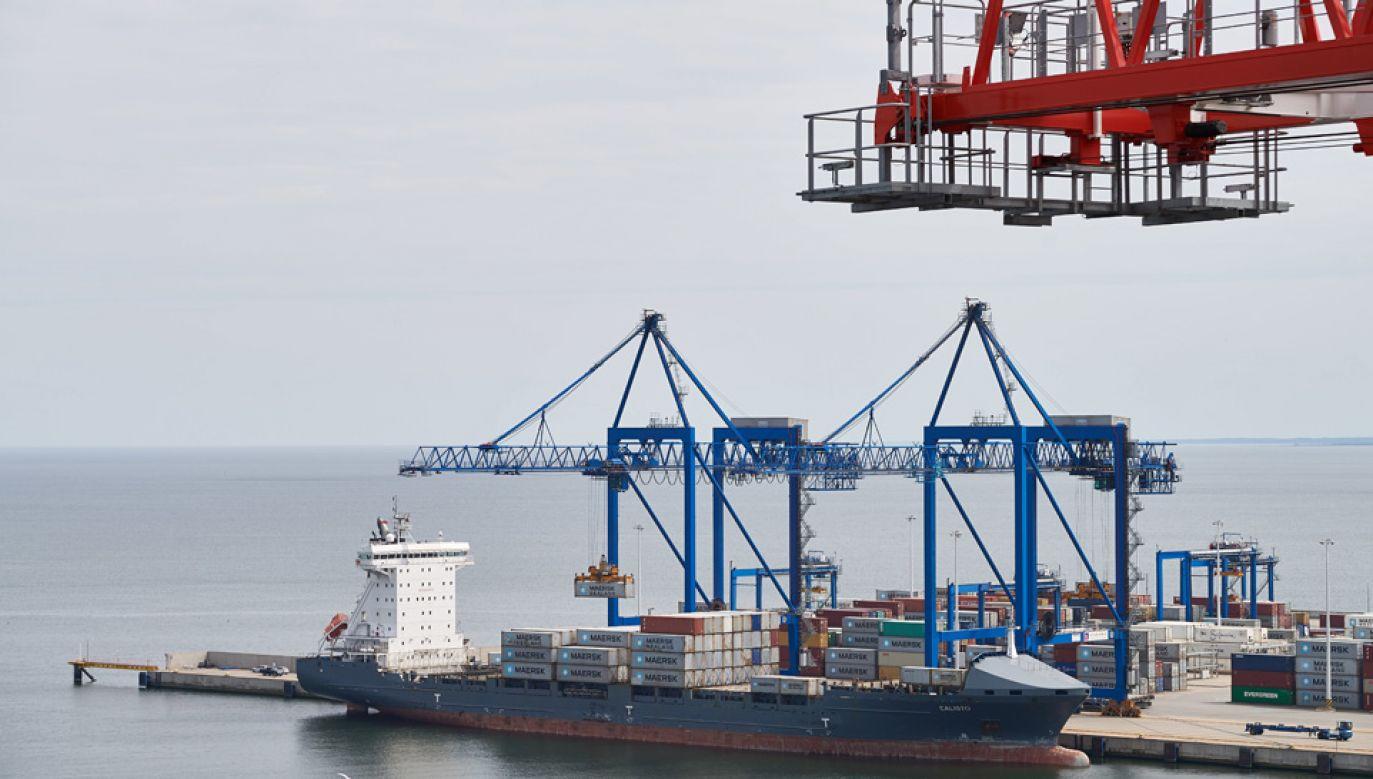 Gdański port ma przejść zmiany (fot. arch.PAP/Adam Warżawa)