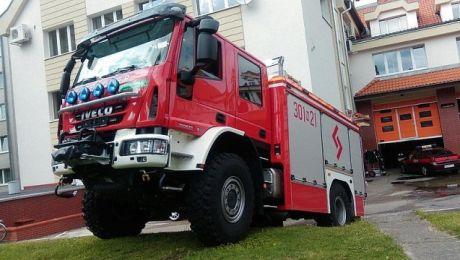 Nowy wóz zajmie w olsztyńskiej komendzie miejsce 10-letniego mercedesa (fot. olsztyn.eu)