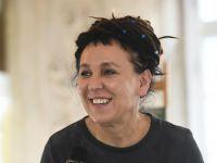 Olga Tokarczuk z nagrodą Bookera