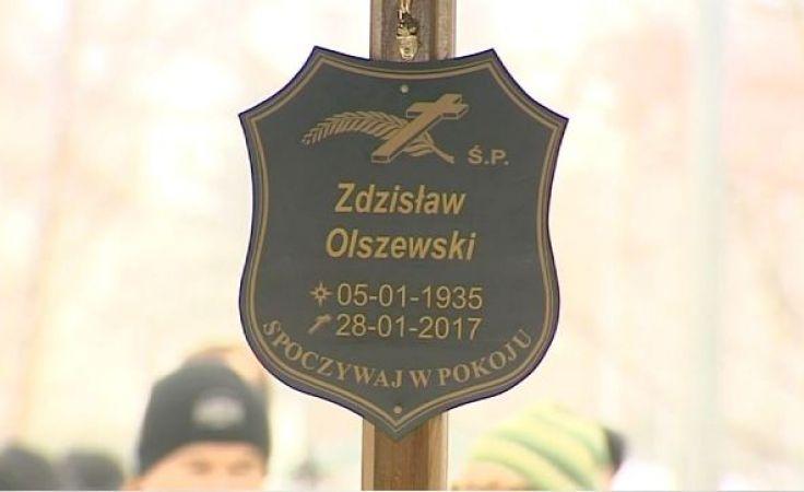 Zdzisław Olszewski spoczął na cmentarzu Agrykola
