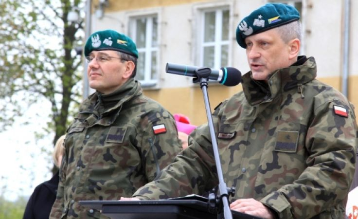 Gen. Motacki służył m.in. w Afganistanie (fot. portel.pl)