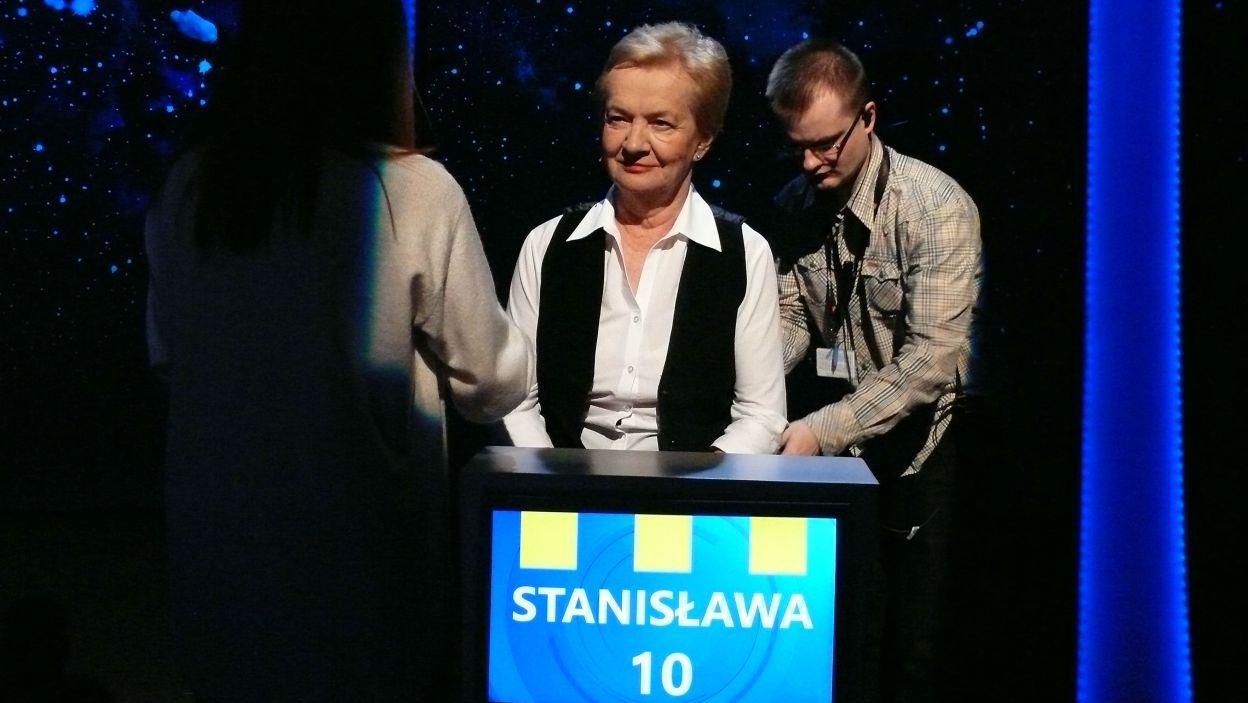 Ostatnie przymiarki i sprawdzanie sprzętu – pani Stanisława przygotowuje się do rywalizacji