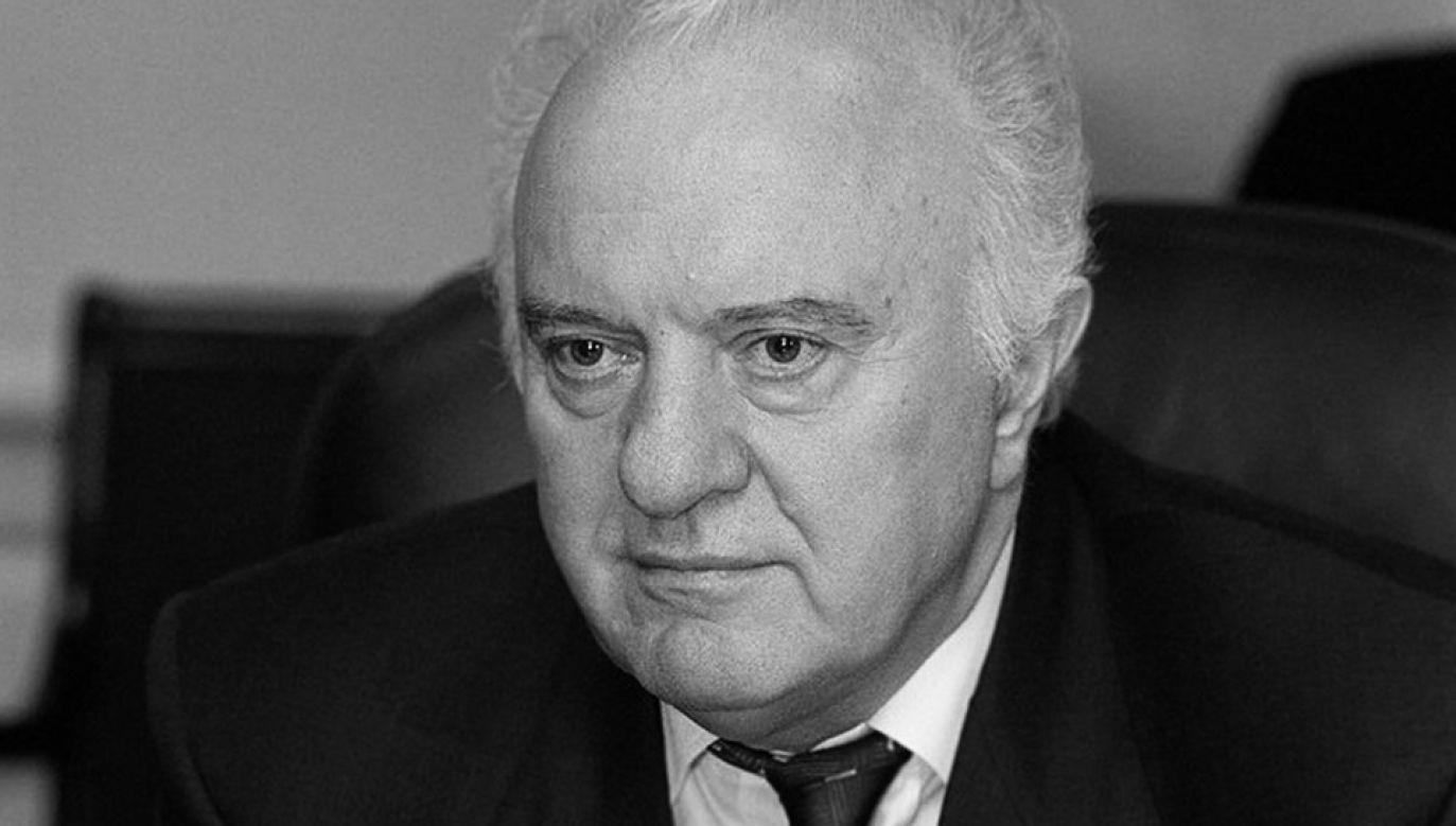 Eduard Szewardnadze (fot. wikipedia.org)