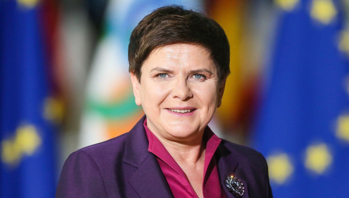 Beata Szydło w rządzie Mateusza Morawieckiego będzie odpowiadała za sprawy społeczne (fot. PAP/EPA/STEPHANIE LECOCQ)