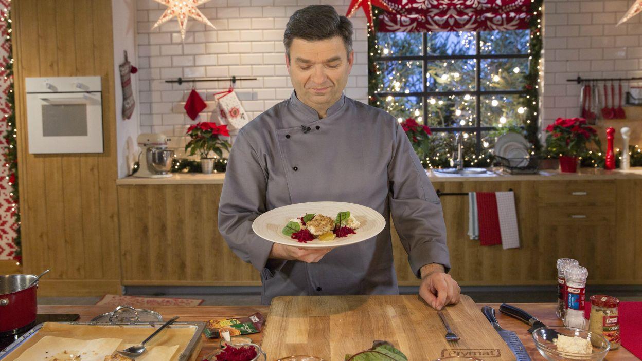 Boże Narodzenie obfituje w różnorodne tradycje i wielu osobom trudno wyobrazić sobie wigilijny stół bez karpia czy barszczu z uszkami (fot. Natasza Młudzik/TVP)