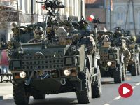 """""""Piknik z NATO"""" w Piotrkowie Trybunalskim. Szef MON wita żołnierzy"""