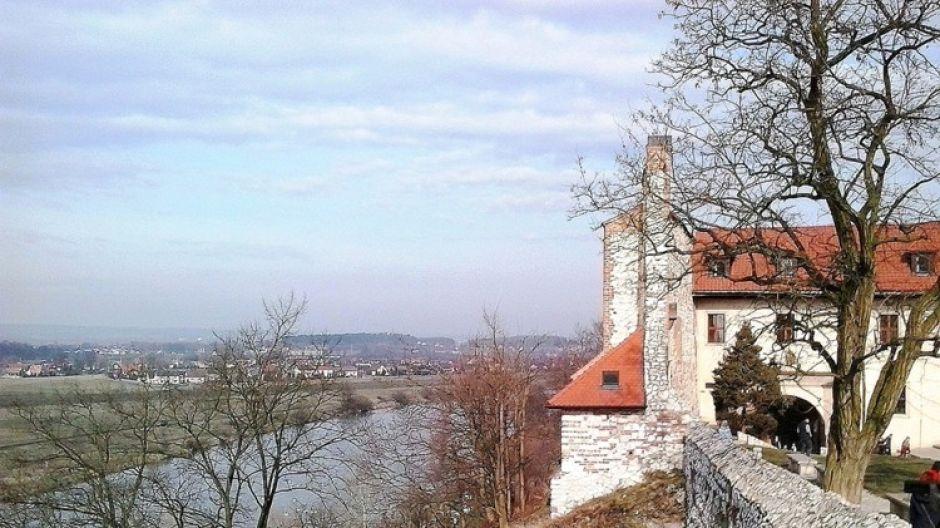 Taras widokowy w Tyńcu (fot. Kazimierz Martyniak)
