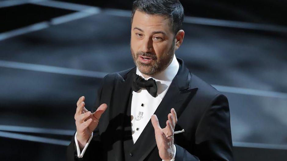 Prowadzący ceremonię Jimmy Kimmel (fot. REUTERS/Lucas Jackson)