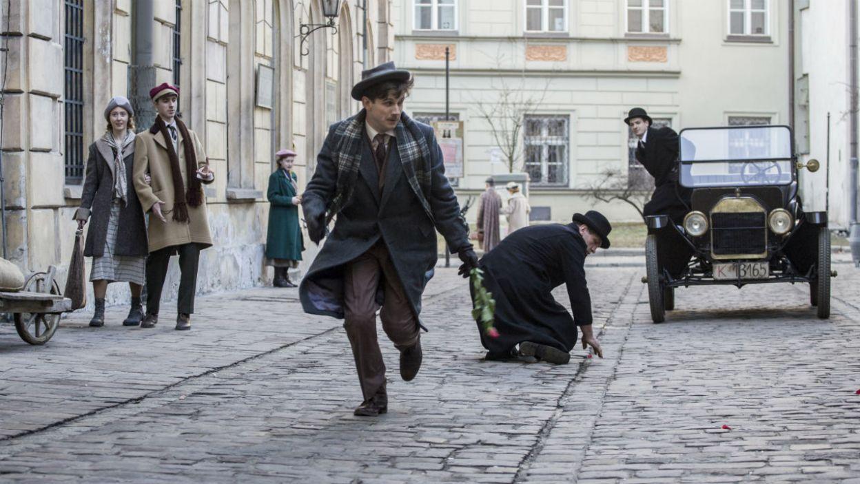 Dziennikarz zrezygnuje z walki o serce  skrzypaczki? (fot. TVP)