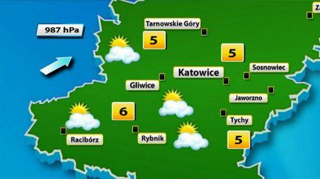 Prognoza pogody w Katowicach